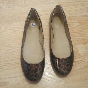 Jcrew leopard flats